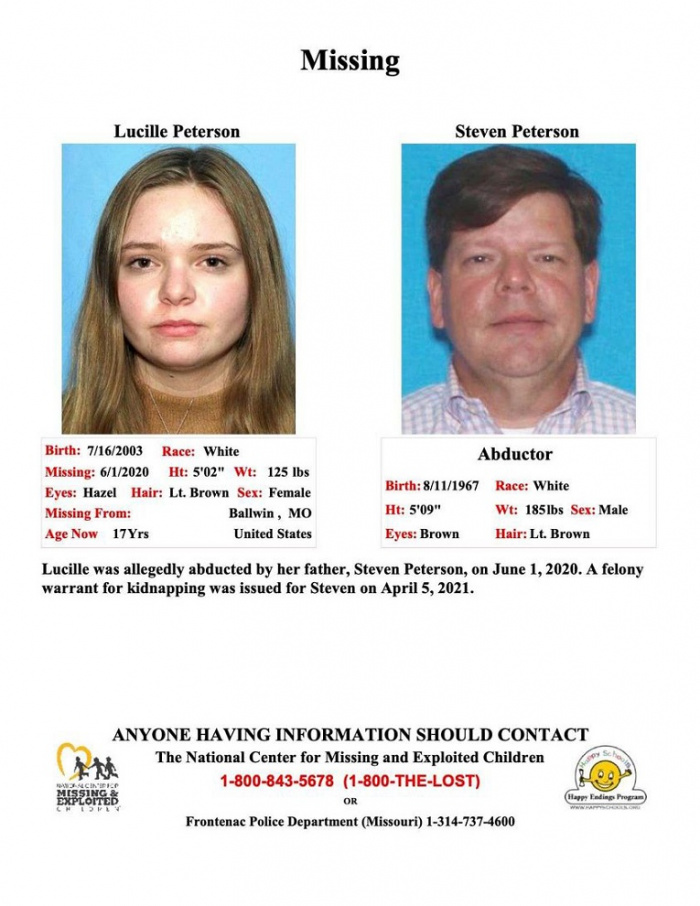 Missing Person - Lucille Peterson