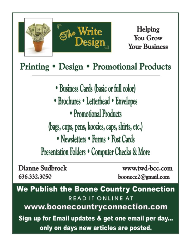 The Write Design January Flyer