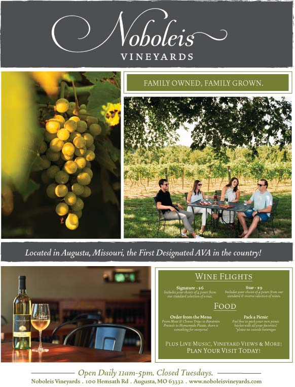 Noboleis Vineyards September Flyer